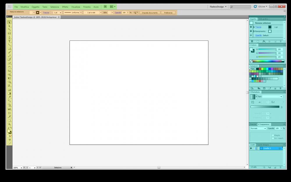 adobe illustrator interfaccia guida