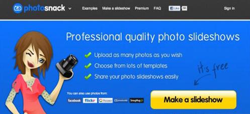 photosnack slideshow